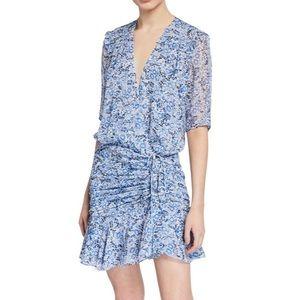 Veronica Beard Floral Print Dress